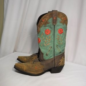 Women's Miss Kate Laredo Western Boots Size 9.5 M
